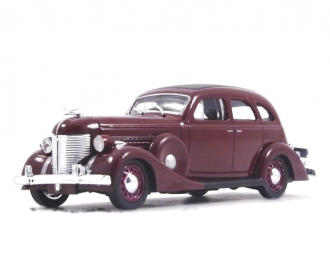 ZIS 101A - 1940, Legendarne Samochody 48, бордовый