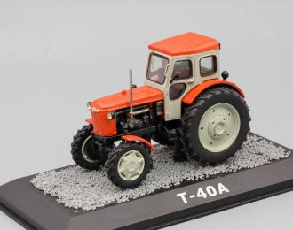 (Конверсия!) Т-40А, Тракторы 25, голубой