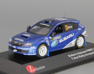 SUBARU Impreza WRX STI Group N #33 T.Arai Rally Acropolis (2009), blue