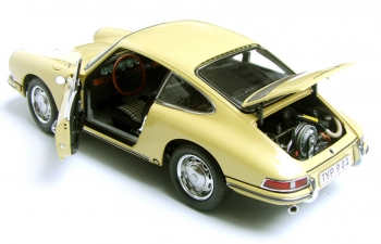 PORSCHE 901 (series-production) Champagner (1964), yellow