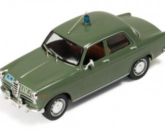 Alfa Romeo Giulietta Polizia Stradale Italy 1959, green