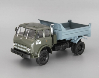 МАЗ-509Б самосвал (1975), зеленый / серый