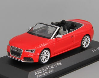 AUDI RS5 Cabriolet (2012), red