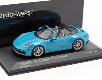 PORSCHE 911 (992) CARRERA 4S CABRIOLET - 2019 - BLUE