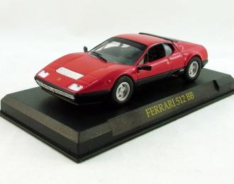 FERRARI 512 BB, red