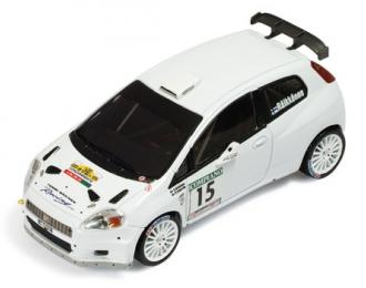 FIAT Punto S2000 #15 K.Raikkonen K.Lindstrom Rally Della Marca Italy (2009), white