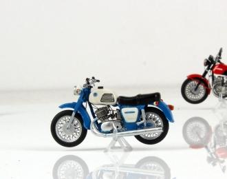 ИЖ Планета-3, мотоцикл бело-синий