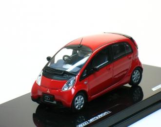 MITSUBISHI iMiEV Electric Car (2009), red