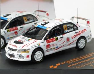 MITSUBISHI Lancer EVO IX IRC Rally de Portugal 2008, white