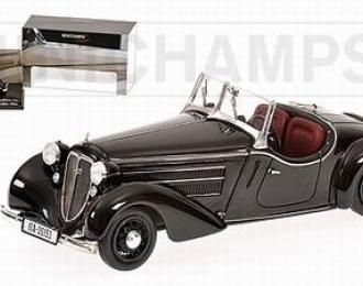 AUDI  Front 225 Roadster 1935, black