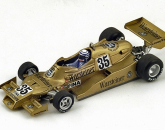 Arrows FA1 #35 2nd Swedish GP 1978 Riccardo Patrese