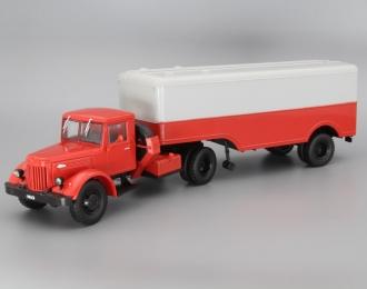 (Уценка!) МАЗ-200В с полуприцепом МАЗ-5217, Грузовики СССР. Спецвыпуск 3