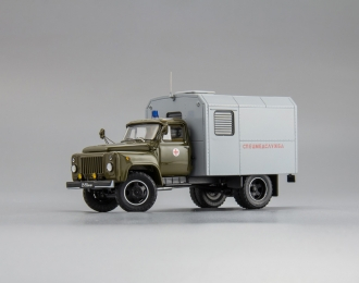 Горький 52 Специальная Медицинская Служба 1980-е, хаки / серый
