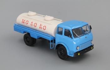 МАЗ АСРТ-6,2 Молоко, голубой / белый
