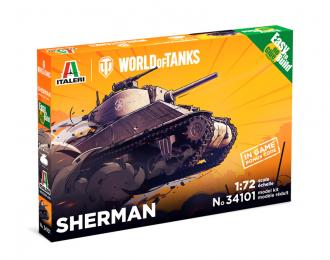 Сборная модель Танк SHERMAN - WoT