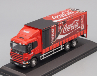 "SCANIA 94D260 6х4 фургон ""Coca Cola"" 2007"
