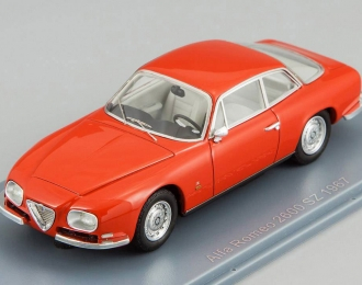 ALFA ROMEO 2600 Sprint Zagato (1967), red