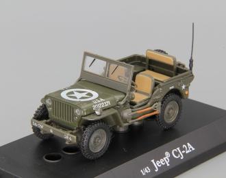 JEEP CJ-2A, green