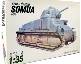 Сборная модель Somua S-35