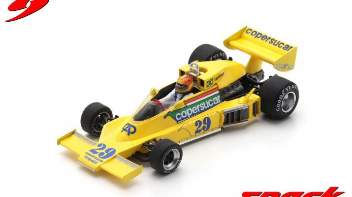 Copersucar FD04 #29 Brazil GP 1977 Ingo Hoffmann