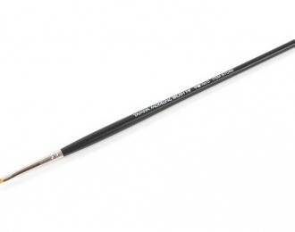 Кисточка плоская ширина 4мм (синтетическое волокно), класс High Finish