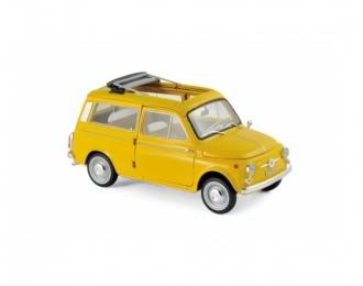 FIAT 500 Giardiniera 1968 Positano Yellow