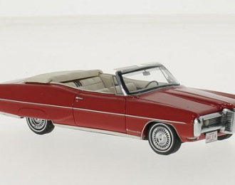 PONTIAC Bonneville Convertible 1968 Red