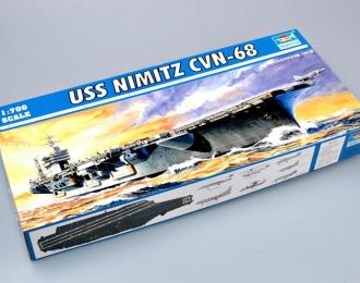 Сборная модель Американский авианосец USS NIMITZ CVN-68