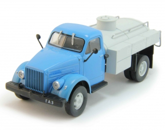 Горький 51А Топливозаправщик, Грузовики СССР 4, голубой / серый