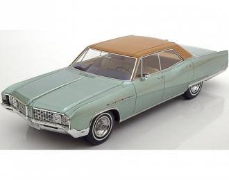 BUICK Electra 225 4-door Hardtop (1968), metallic-light green / brown