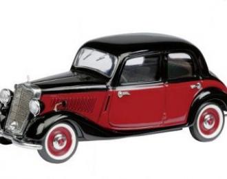 MERCEDES-BENZ 170V Limousine (1949), black/red