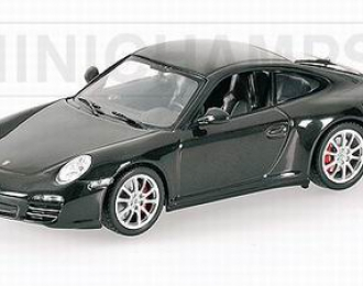 PORSCHE 911 Carrera Coupe (2008), black