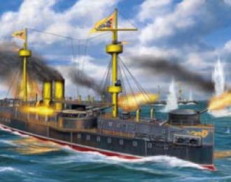 Сборная модель Peiyang Fleet Flagship 'Ting Yuen'