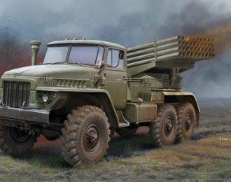 Сборная модель Пусковая установка БМ-21 Град