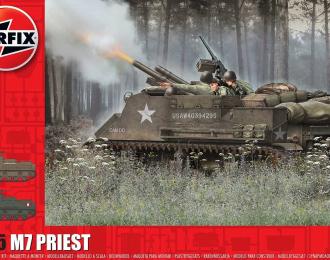 Сборная модель M7 Priest