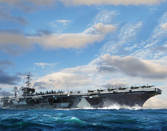 Сборная модель USS Constellation CV-64