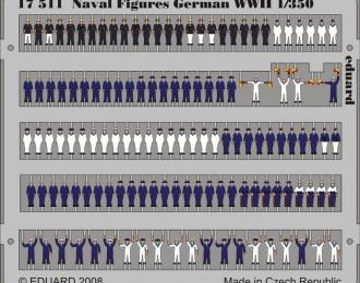 Фототравление для Naval Figures German WWII