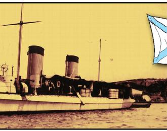 """Сборная модель Российский эсминец """"Лейтенант Бураков"""" (1900г.) (китайский Hai Lung / британский HMS Taku)"""
