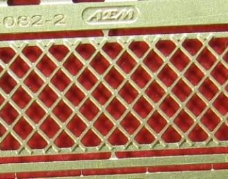 Фототравление Решетка заднего окна ZIS-150, ZIS-151, ZIL-164 (вариант 2)