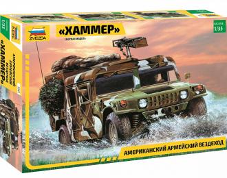 """Сборная модель Американский армейский вездеход """"Хаммер"""""""