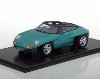 PORSCHE Panamericana Concept Car 1989 Metallic Green