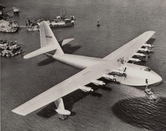 Сборная модель Гидросамолет H-4 Spruce Goose