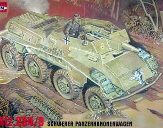 Сборная модель Немецкий бронеавтомобиль Sd.kfz.234/3