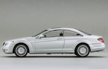 MERCEDES-BENZ CL 500 (2006), silver