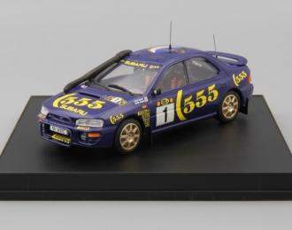 Subaru Impreza WRC 1st. Monte Carlo 97 P. Liatti / F. Pons, dark blue