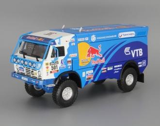 "КАМАЗ 4326 команда ""Камаз-Мастер"" #501 Race Truck Peru-Argentina-Chile (2013), blue / white"