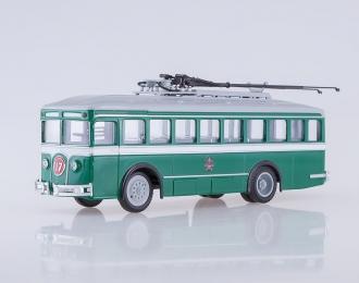 Троллейбус ЛК-2, зеленый