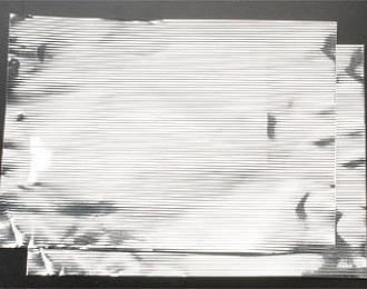 Алюминий 0,05 мм, гофрированный, шаг 0,76 мм, лист 13х18 см, 2 шт