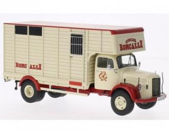"MERCEDES-BENZ L3500 ""Roncalli"" (перевозка лошадей) 1958"