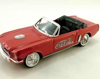 FORD Mustang Coca-Cola (1964), красный